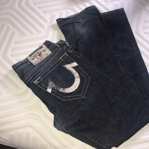 True religion used jeans